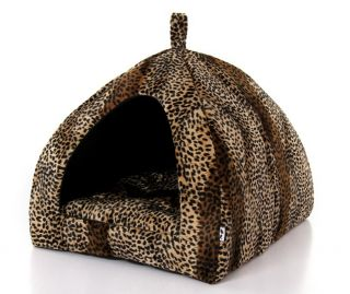 Soft Warm Indoor Pet Dog Cat House Tent Collapsible s M L XL for Small Dogs