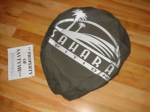 1997 2008 TJ YJ Wrangler Jeep Sahara Liberty Brand New Spare Tire Cover Grey