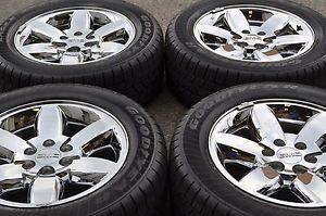 "20"" GMC Sierra Denali 1500 Truck Chrome Wheels Rims Tires 5420"