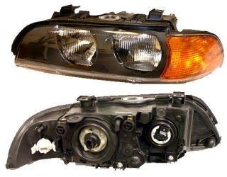Headlight Assembly Left BMW 528 540 I E39 Lamp