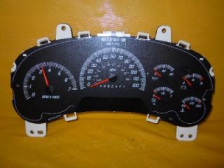 06 Envoy XL Isuzu Ascender Speedometer Instrument Cluster Dash Gauges 77 648