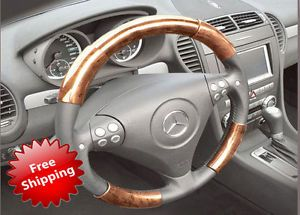 Cadillac cts 08 12 Wood Grain Pattern Steering Wheel Cover Interior Parts