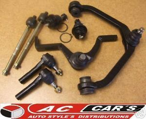 Front End Kit Control Arms Ball Joints Tie Rod Ends New Torsion Bar Suspension