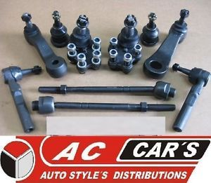 Front End Kit Ball Joint Tie Rod Pitman Idler 4WD Chevy Cadillac Suspension New