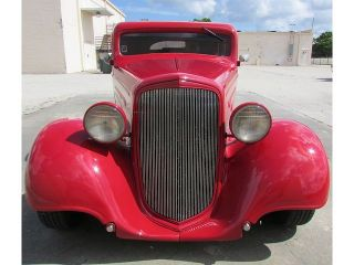 1935 Chevrolet Master Deluxe Chopped Top Former Isca Show Winning Hot Street Rod