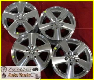 "08 09 10 Dodge Caravan 16"" Machined Silver Wheels Factory Rims Used 2334"