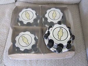 Chevy 2500 3500 Wheel Center Caps Hubcaps Chrome 5079 New Set of 4