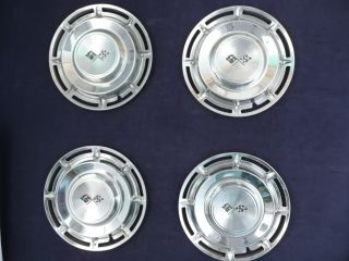 "1960 Chevrolet Impala 14"" Full Wheel Covers Hubcaps Set CHE14"