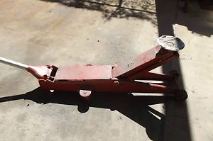 Hein Werner Model M 2 Ton Long Reach Floor Jack