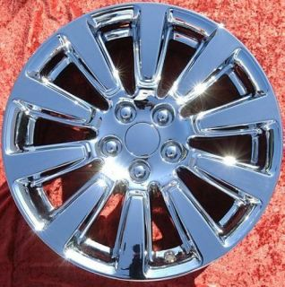 "Exchange Set of 4 New Chrome 18"" Toyota Sienna Factory Wheels Rims 69583"