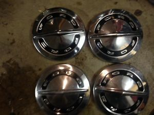 1964 Ford Galaxie Dog Dish Hubcaps Poverty Hubcaps Galaxie Fairlane