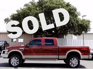 Brown King Ranch 6 4L 4x4 Rosen Navigation Diesel Sunroof Lifted Back Up Camera