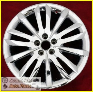 "11 12 13 Lincoln MKX 20"" 15 Spoke Chrome Clad Wheel Used Factory Rim 3853"