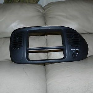 2002 F150 Ford Harley Davidson Radio Temperature Bezel Black XL34 1504302 Ajw