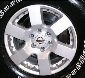 "62448 Nissan Frontier Pathfinder Xterra 16"" Used Wheels Car Rims Parts Alloy"