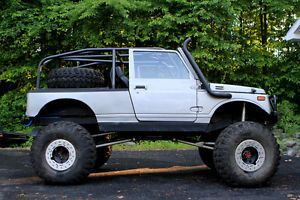 Suzuki Samurai Custom Highly Modified Off Road Ford 2 9L Engine Transmission