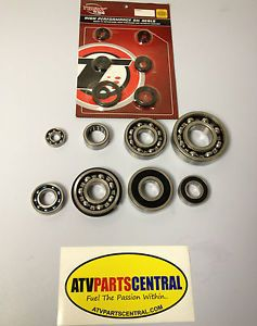 Raptor 660 Engine Crank Transmission Bearings Seals Water Pump Kit Bearing