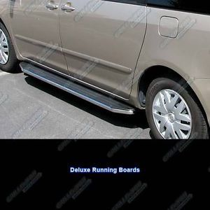 "05 10 Toyota Sienna 79"" Deluxe Side Step Nerf Running Boards"