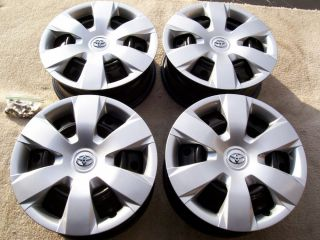 "Toyota Camry Sienna 16"" Wheels Rim Steel Stock Factory Hub Caps 16"" Winter Set 4"