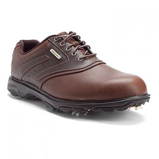 Etonic Sport Tech III Golf  Men's   Mocha/Dk Brown WP Leather