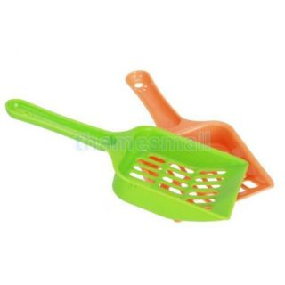 Plastic Cleaning Litter Tray Scoop for Pet Cat Dog Puppy Indoor Outdoor Walking