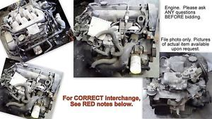90 91 92 93 94 95 Ford Taurus Engine 3 0L Vin U 8th Digit EXC Sho from 3 29 90