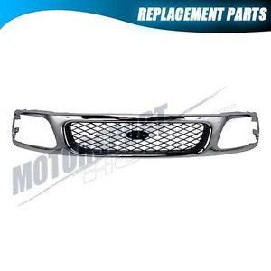 Front Upper Grille Ford 97 98 F150 F250 Expedition Truck Body Parts FO1200380