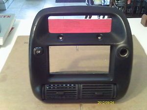 1996 Ford Ranger Dash Board Bezel for The Factory Radio