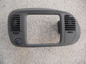 Ford Expedition Lincoln Navigator Dash Bezel Heater Control Radio AWD