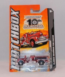 Matchbox Models of Yesteryear Fire Engine
