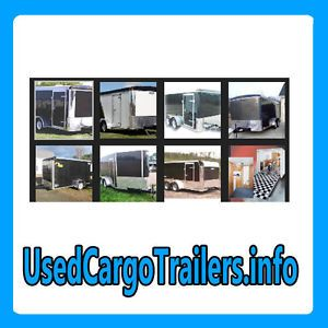 Used Cargo Trailers Info Web Domain for Sale Industrial Enclosed Market $$