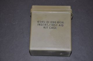 US Military USGI Issue First Aid Kit Case Insert Watertight IFAK Medic