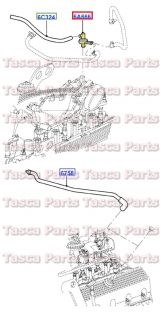 Brand New Emission Crankcase EGR Regulating Valve 4 6L V8 2001 Ford Mustang