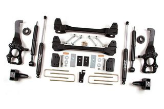 "2009 2012 Ford F 150 2WD 6"" Suspension Lift Kit Zone Offroad F20"