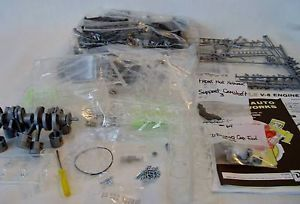 Revell Visible V8 Operating Engine Model Kit Unbuilt 1994 8883 Pre Owned