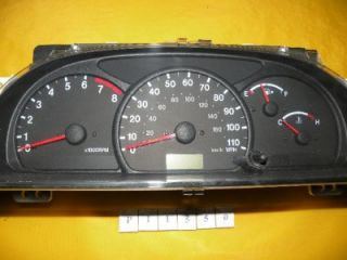 01 02 Vitara 2001 2002 Speedometer Instrument Cluster Dash Panel 90 659