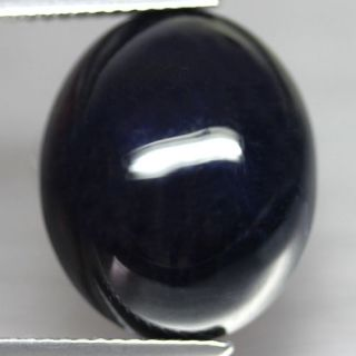 23 22ct Interesting Huge Oval Cab Midnight Blue Natural Sapphire Africa