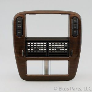 04 03 Mercury Mountaineer Ford Explorer Radio Climate Bezel Dash Trim