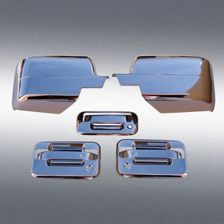 04 08 F150 Chrome Door Handle Tailgate Mirror Covers 2K
