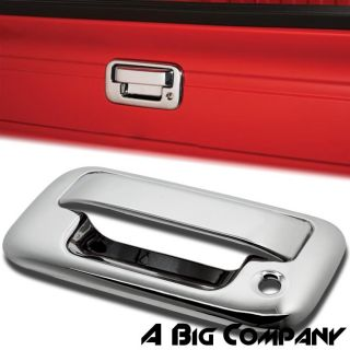 2004 2012 Ford F150 Triple Chrome Door Handle Tailgate Covers Trim with Keypad
