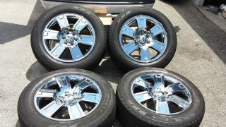 "2008 Ford F150 F 150 Chrome 20"" Factory Wheels Rims Tires 04 13 Expedition"