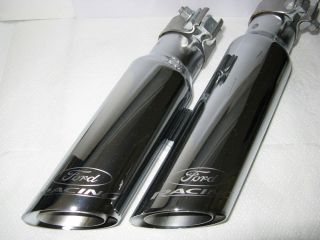 Ford Racing F150 Raptor Harley Truck Chrome Exhaust Tip M 5255 F15R