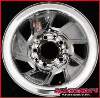 "92 93 94 95 96 Ford F150 Bronco 15"" Chrome Clad Steel Wheel Used Rim 3026"