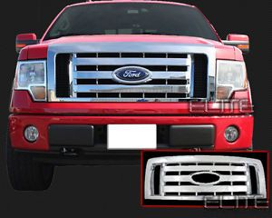 2009 2012 Ford F150 XL STX FX4 Chrome Grille Insert