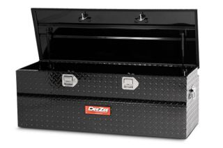 "Dee Zee DZ8537B Chevy CK Utility Chest Tool Box Truck Black 15 9"" H to 19"" W"