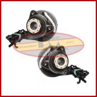 2 New Front Wheel Bearing Hub Assembly 4x4 Pair