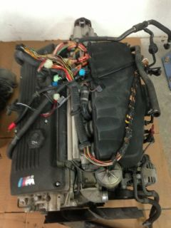 BMW S54 Engine Mz3 Engine Harness 5 SPD Trans Complete E30 M3 E36 M3 Swap