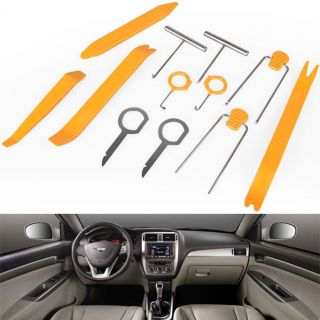 Installer Pry Tool Kit Trim Removal Car Panel Audio DVD Stereo Door Clip Remover