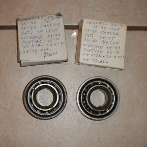1923 1940 Chevy Pontiac GMC Truck Front Wheel Bearings 39 38 37 36 35 34 33 32