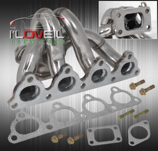 92 93 94 95 Civic D15 D16 T3 T4 Turbo Header Manifold